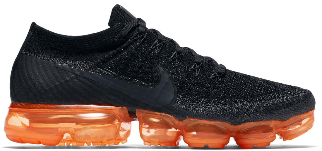 8f85b54a3479f Nike Air VaporMax Flyknit Black Orange - StockX News
