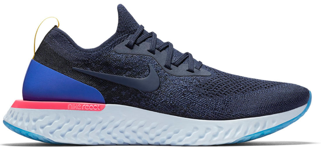 2ee6a25e15ae Nike Epic React Flyknit College Navy - StockX News