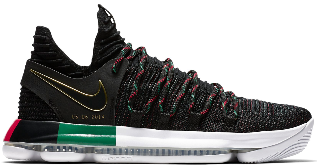 brand new 53e81 2e9d5 Nike KD 10 BHM Black History Month 2018 - StockX News