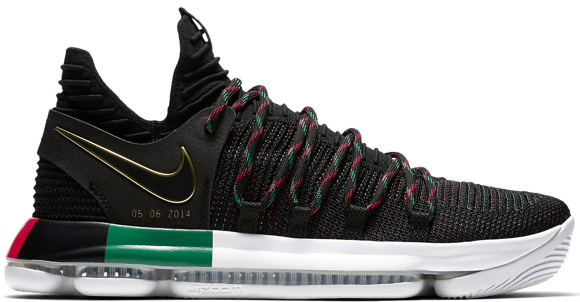 Black History Month Shoes Kd