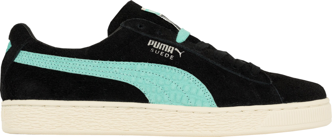 purchase cheap e3764 31e2a Diamond Supply Co. x Puma Suede Black - StockX News