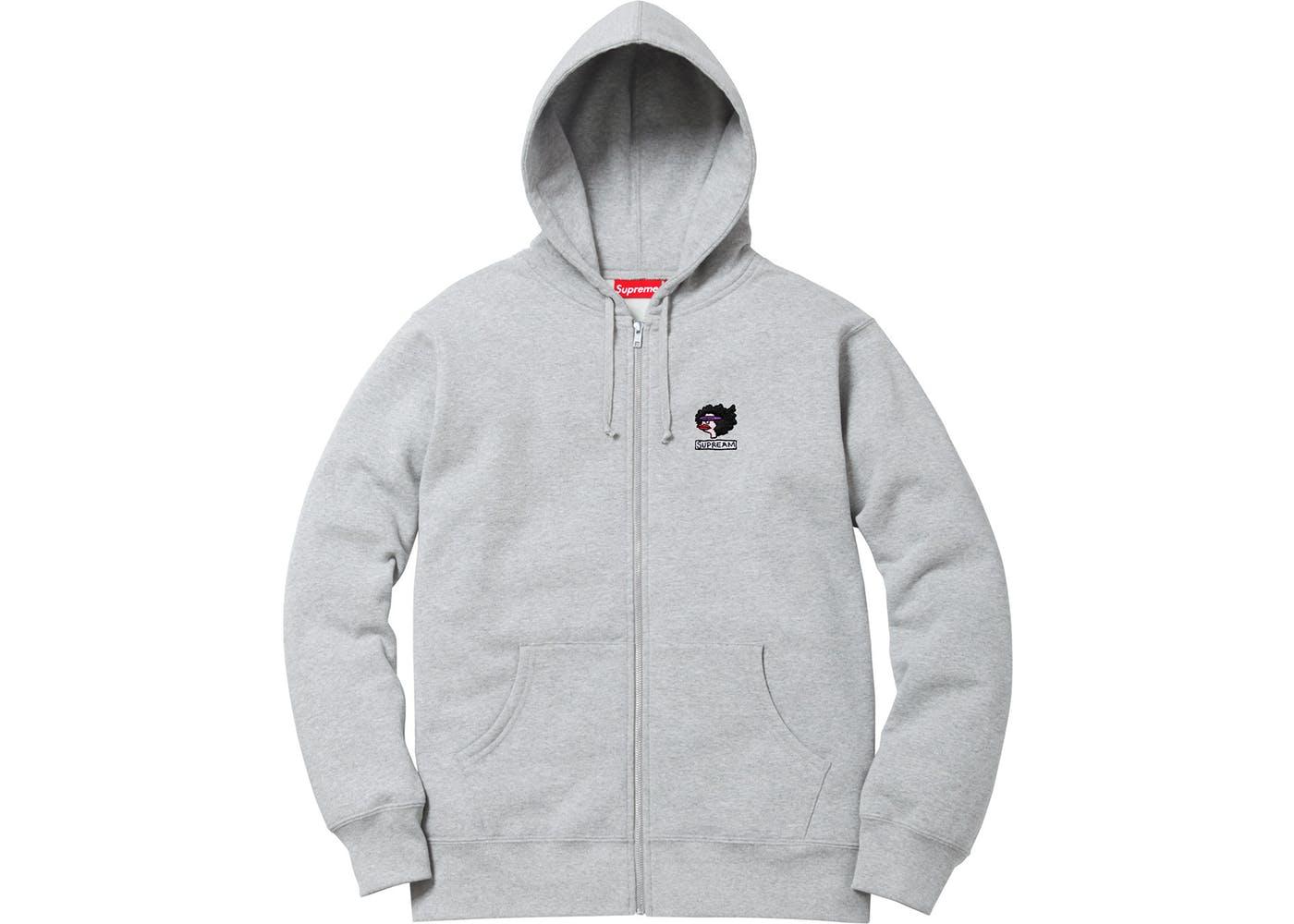 e97c5d2e766d Supreme Gonz Ramm Zip Up Sweatshirt Heather Grey - StockX News