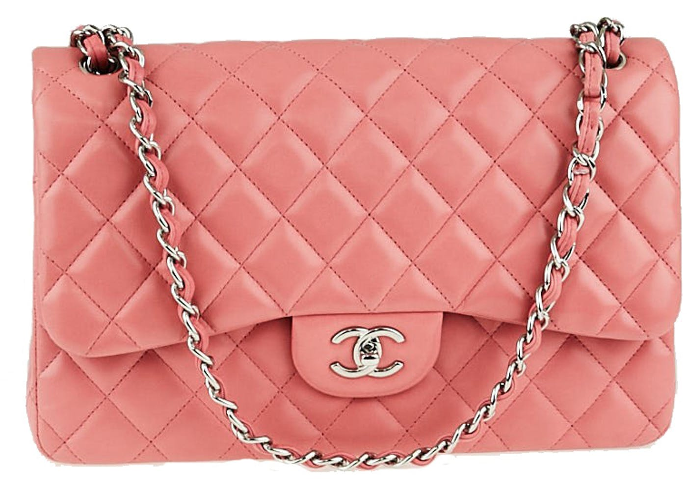 707a7584235342 In 1983, when Karl Lagerfeld took over as head designer at Chanel, he  introduced the CC turn-lock design to the classic flap bags, creating an  icon for ...