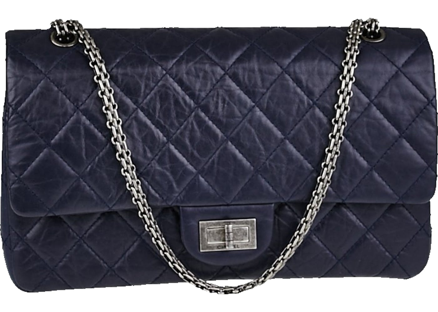 b4a6e1ea8a1a This material is popular among the reissue flaps, adding texture to the classic  Chanel design.