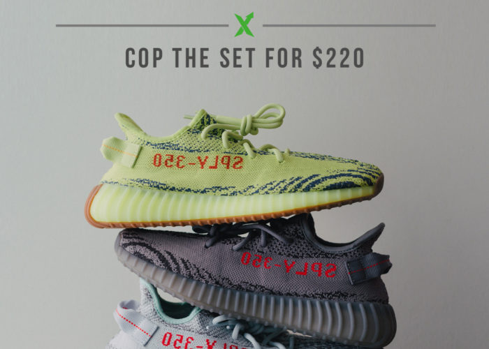 3 Yeezys for the Price of 1! (Update: Announcing the Winners)