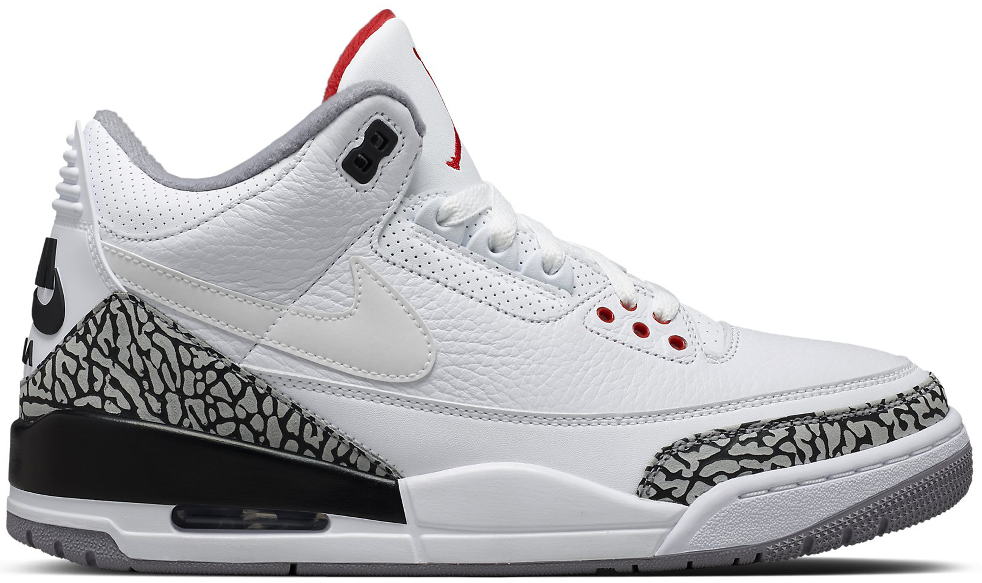 Air Jordan 3 Retro JTH White Cement