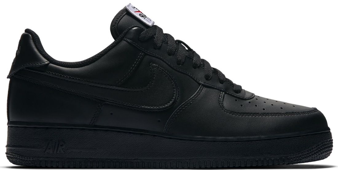 Nike Air Force 1 Low Swoosh Pack Black All-Star 2018 - StockX News 72fe748b4