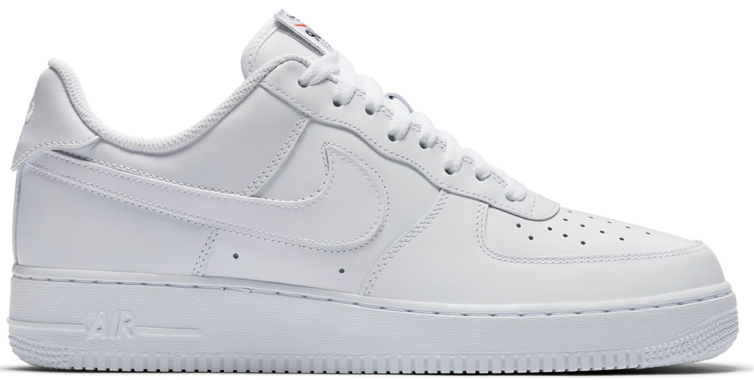 pretty nice c88e4 52b5f Nike Air Force 1 Low Swoosh Pack White All-Star 2018