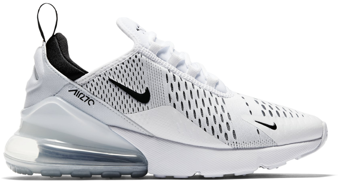 23dd387f9b Women's Nike Air Max 270 White Black