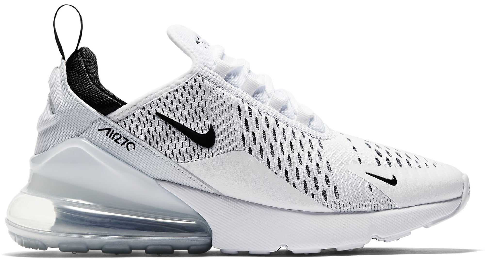 Women\u0027s Nike Air Max 270 White Black