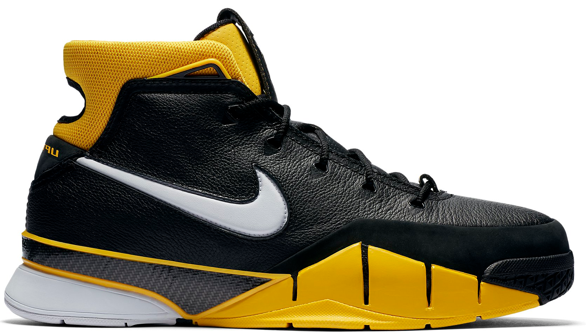 buy online e9b6b 80f8e Nike Kobe 1 Protro Black Maize