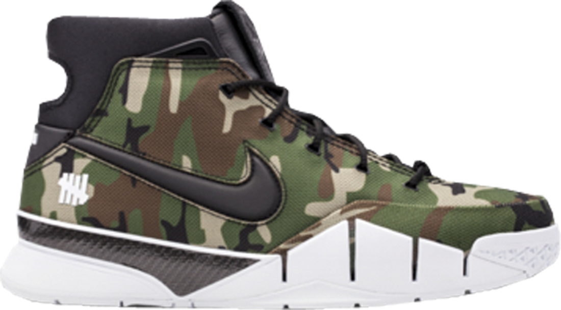 bd9ccef45aed Undefeated Nike Kobe 1 Protro Camo