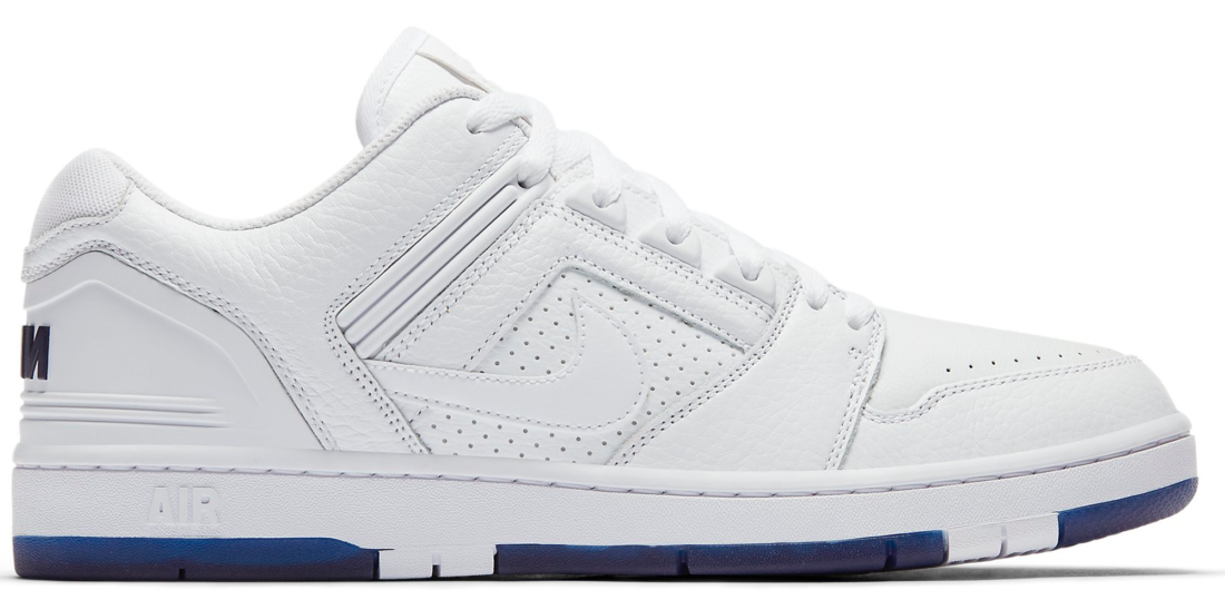 c8f1002e22d8 Kevin Bradley x Nike SB Air Force 2 Low White Blue Void - StockX News
