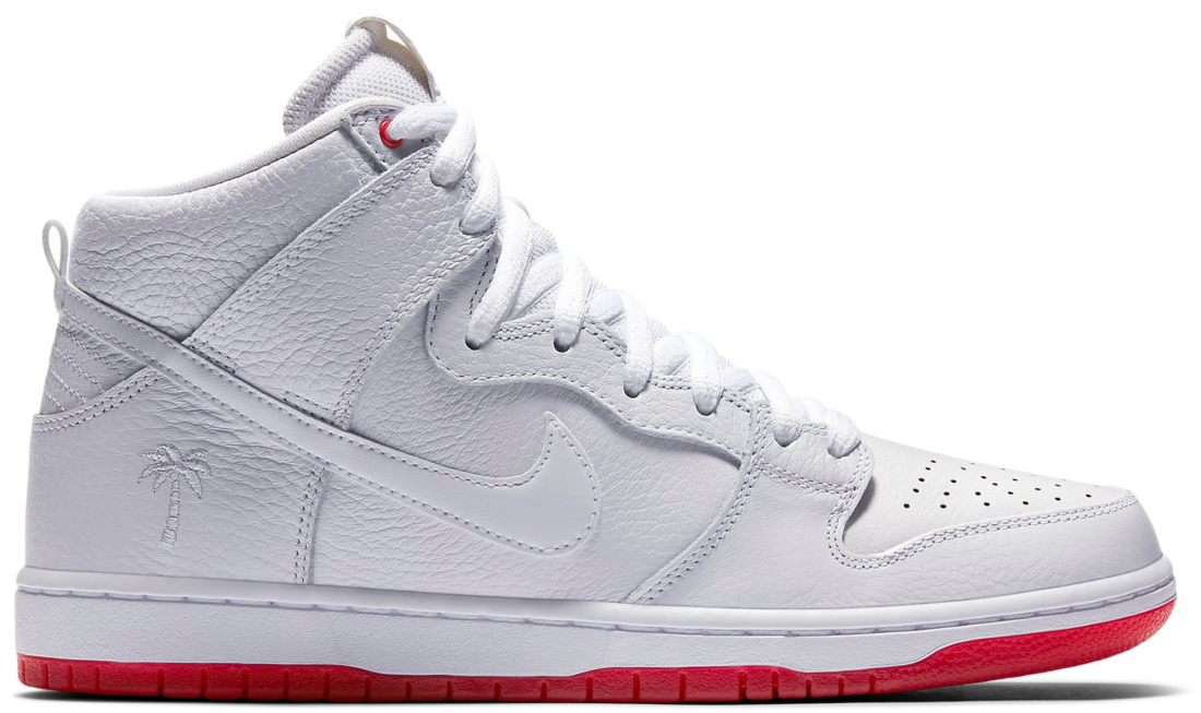 online retailer 04c5d 4508f Kevin Bradley x Nike SB Dunk High White University Red ...