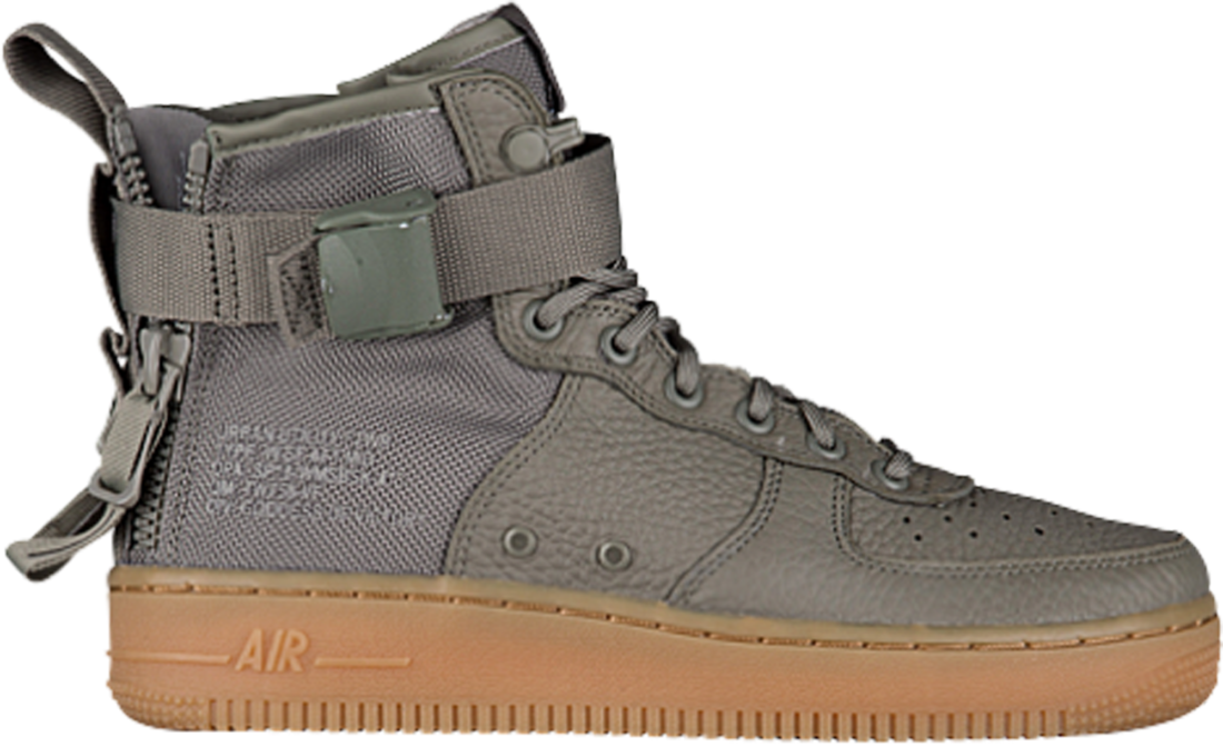 Women s Nike SF Air Force 1 Mid Dark Stucco - StockX News a52daa170f