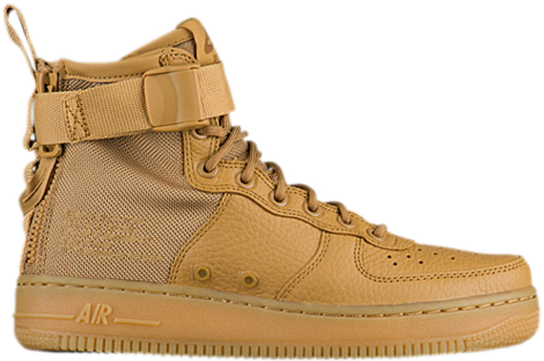Women s Nike SF Air Force 1 Mid Elemental Gold - StockX News 6141305232