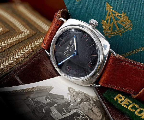 A Look at Panerai's Fascinating Military History Through One War-Torn Watch