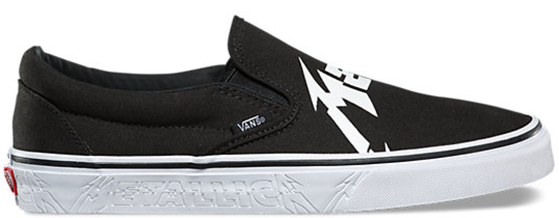 61f893fe58 Metallica Vans Slip On 2018 - StockX News