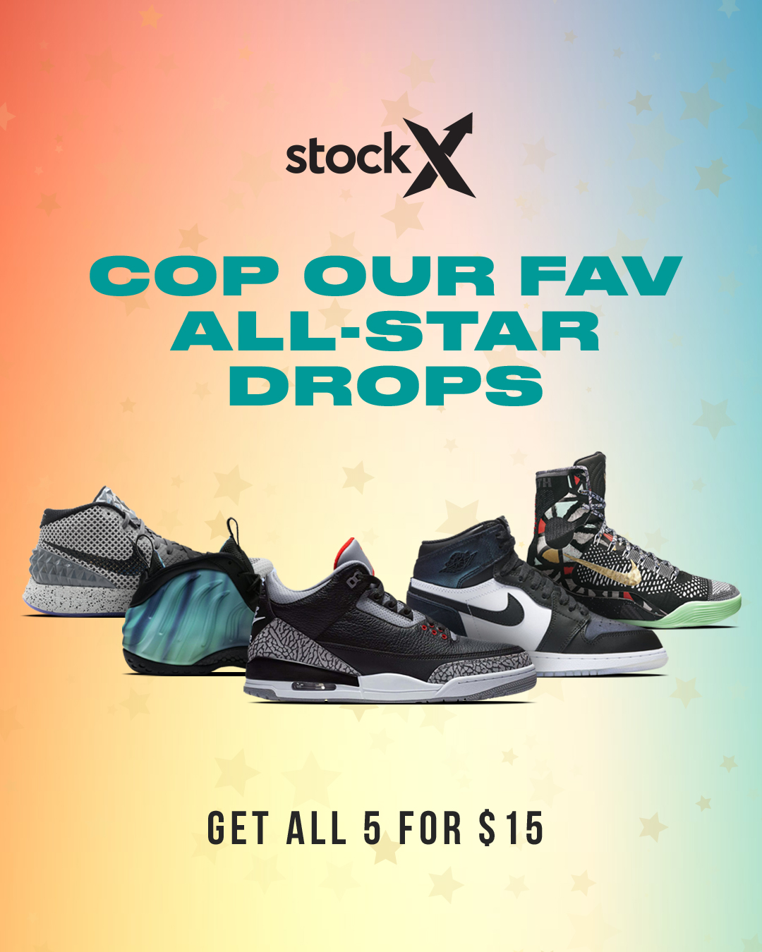Introducing…The StockX All-Star Lineup (Updated w/ Winners)