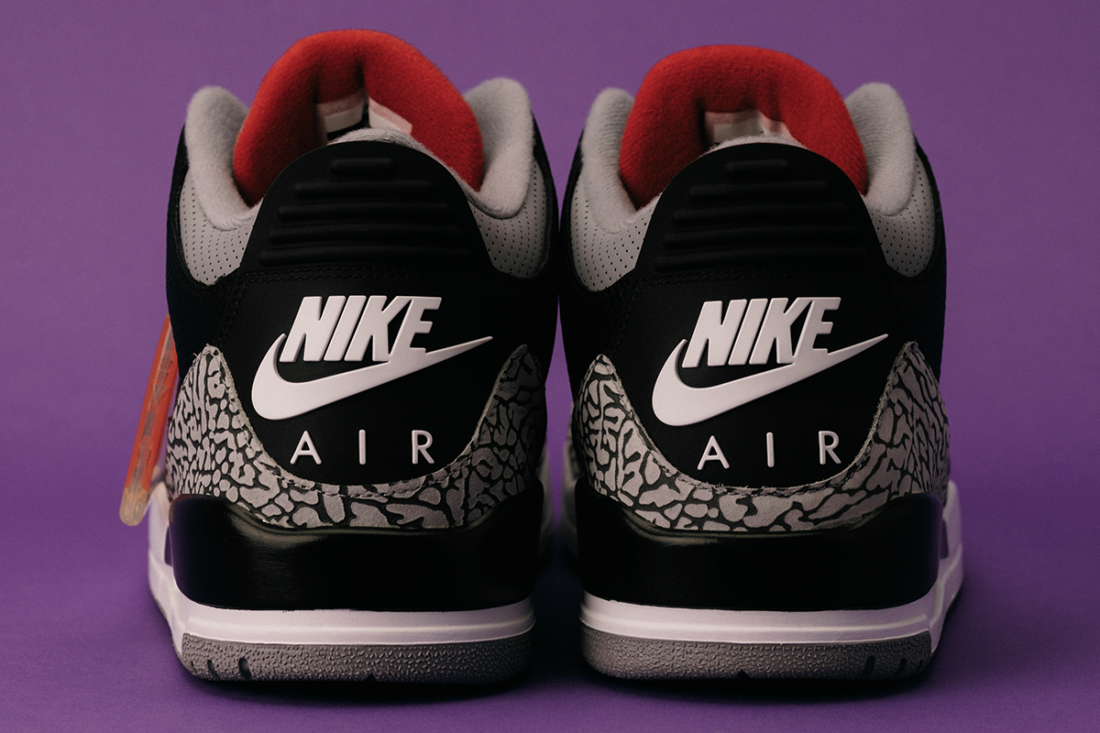 factory price 81910 9ca7d Return of the Air Jordan 3 Black Cement (2018) – On Numbers and Nostalgia