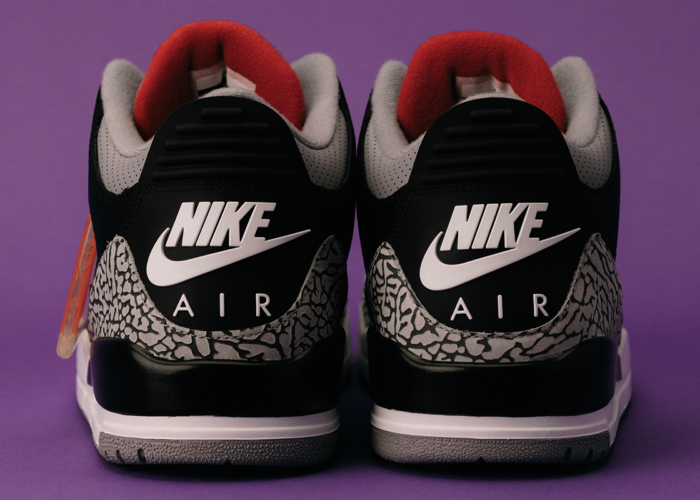 Return of the Air Jordan 3 Black Cement (2018) - On Numbers and Nostalgia