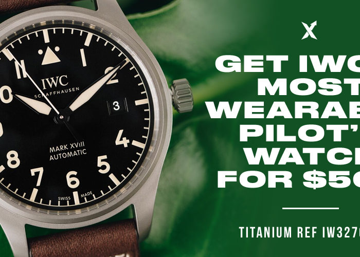 The IWC Pilot XVIII Heritage Could be Yours for $500
