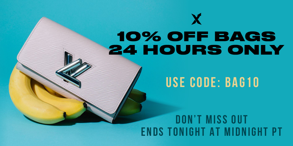10% Off Bags – 24 Hours Only!