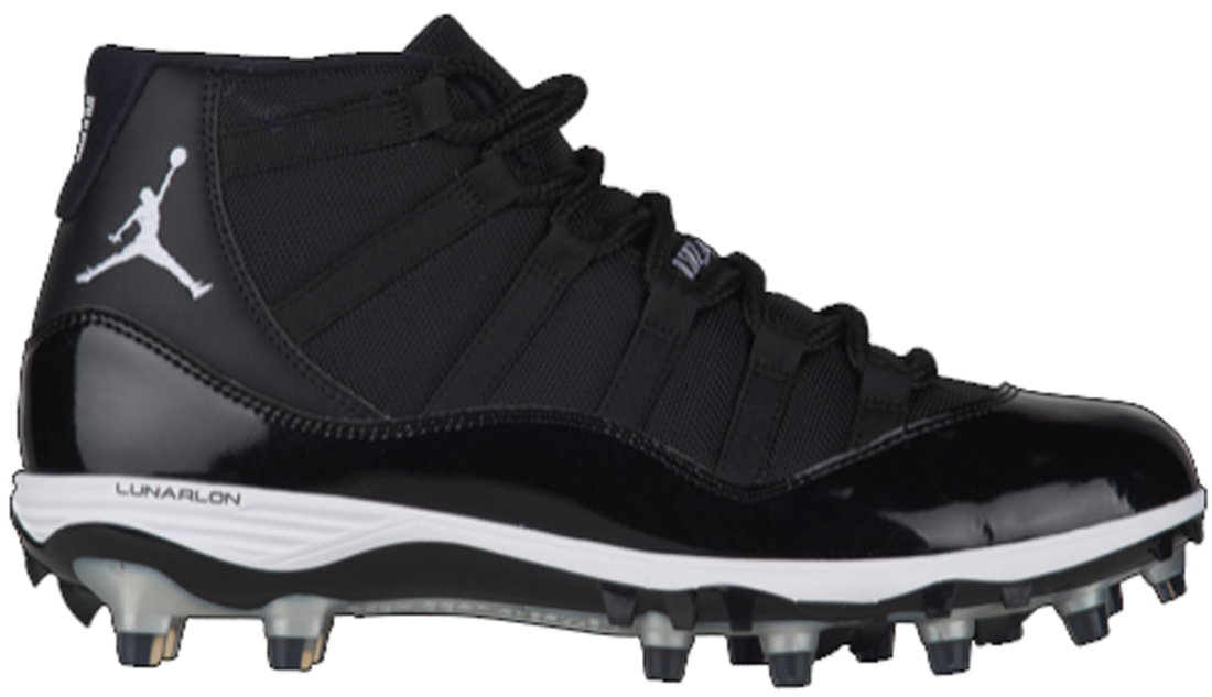 c713ede96c2 Air Jordan 11 Black Cleat
