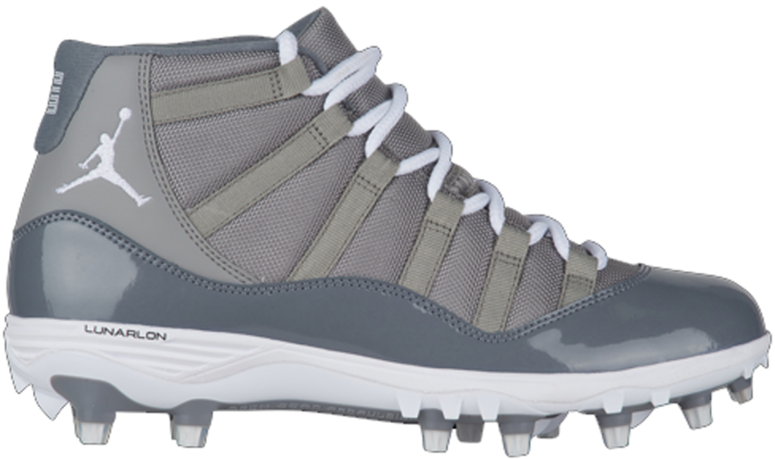 baadbc0358cc81 Air Jordan 11 Cool Grey Cleat