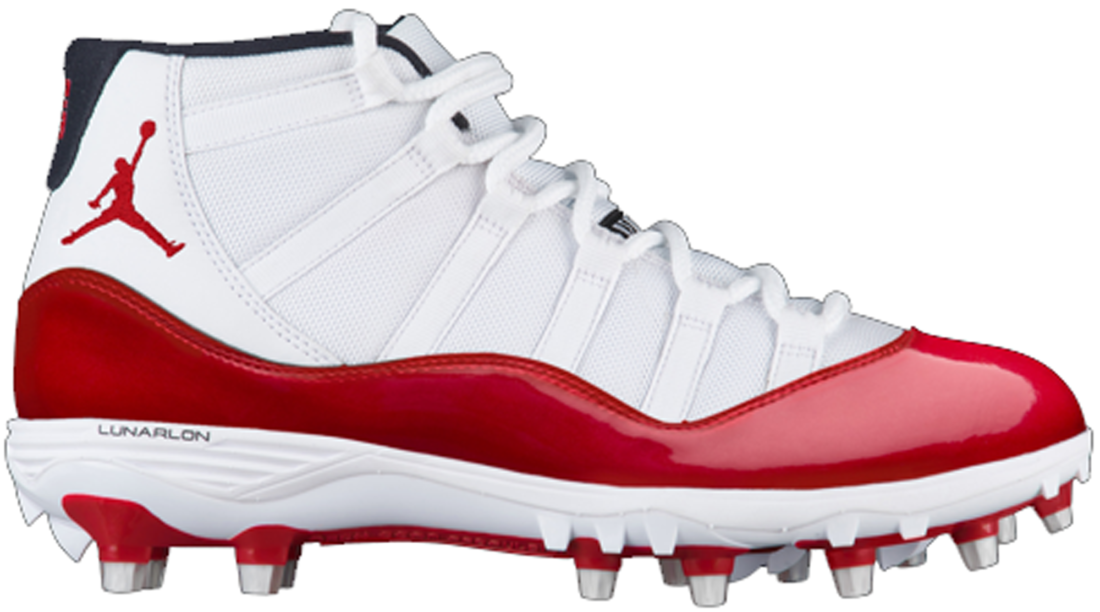 593ee8a6a7fb Air Jordan 11 Red Cleat