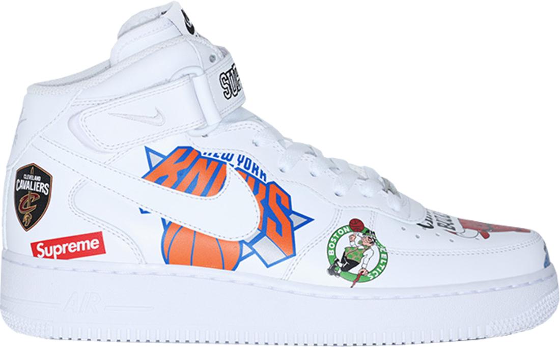Supreme X NBA X Nike Air Force 1 Low White Online