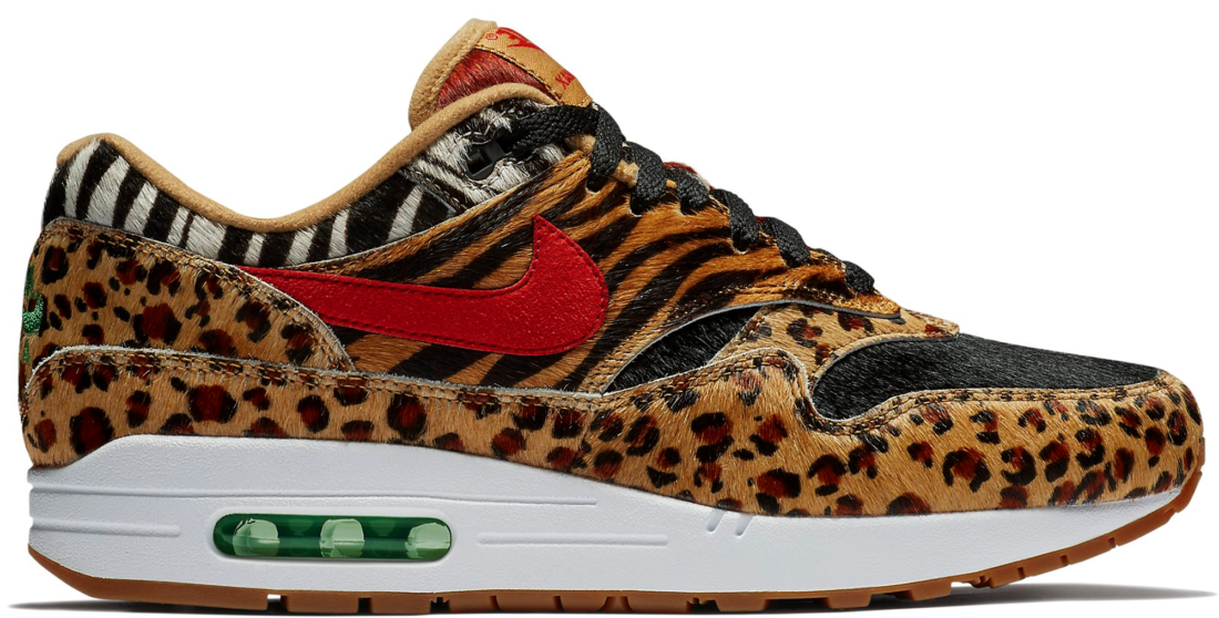 d4dba2e7882a0 Nike Air Max 1 Atmos Animal Pack 2.0