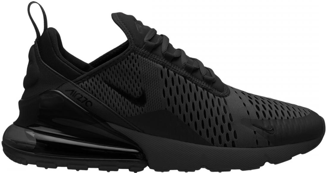 hot sale online 0396a 77b09 Nike Air Max 270 Triple Black