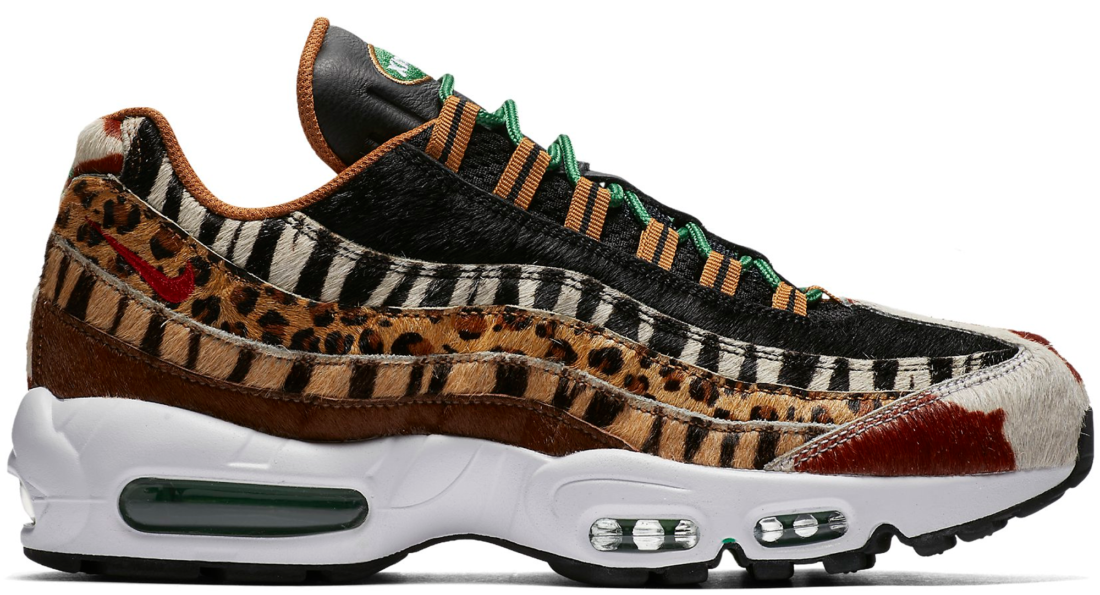 best sneakers 136b6 fda19 Nike Air Max 95 Atmos Animal Pack 2.0