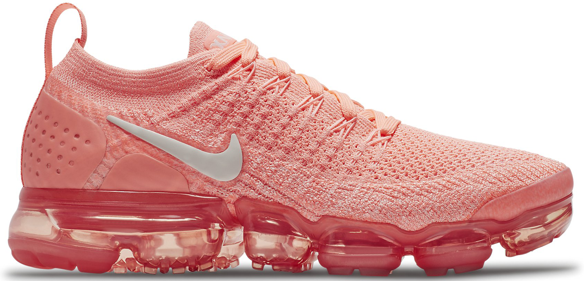 new product 2164c 51519 Women's Nike Air VaporMax Flyknit 2 Crimson Pulse