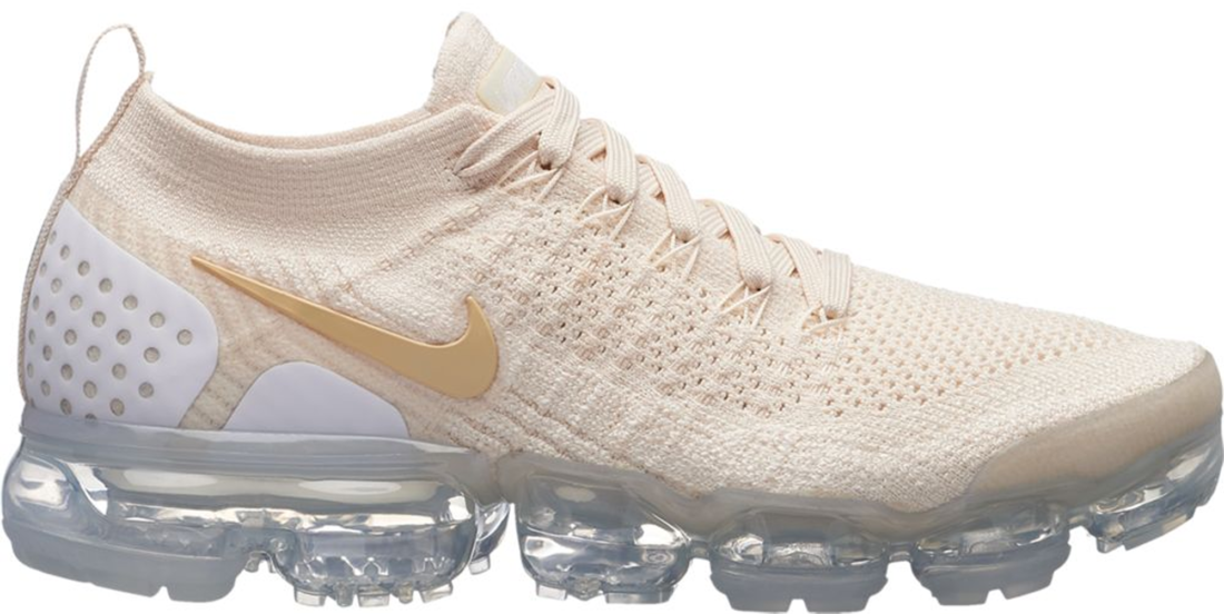 new arrival 06820 e9ced Women's Nike Air VaporMax Flyknit 2 Light Cream