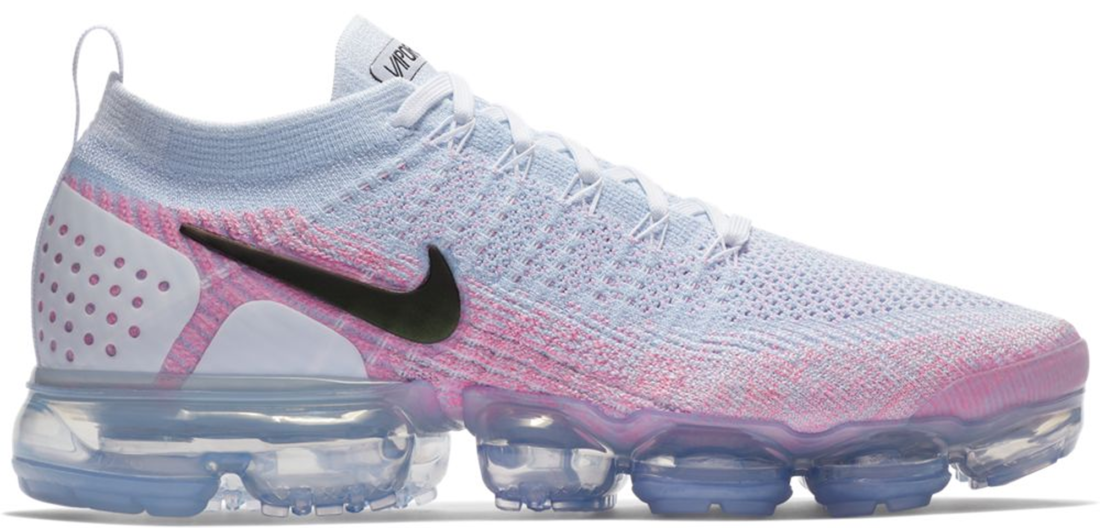 af8995cca3 Nike Air VaporMax Flyknit 2.0 White Hydrogen Blue