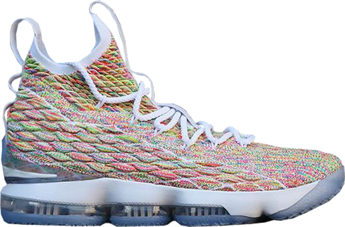 new arrival 21a63 476b6 Nike LeBron 15 Fruity Pebbles