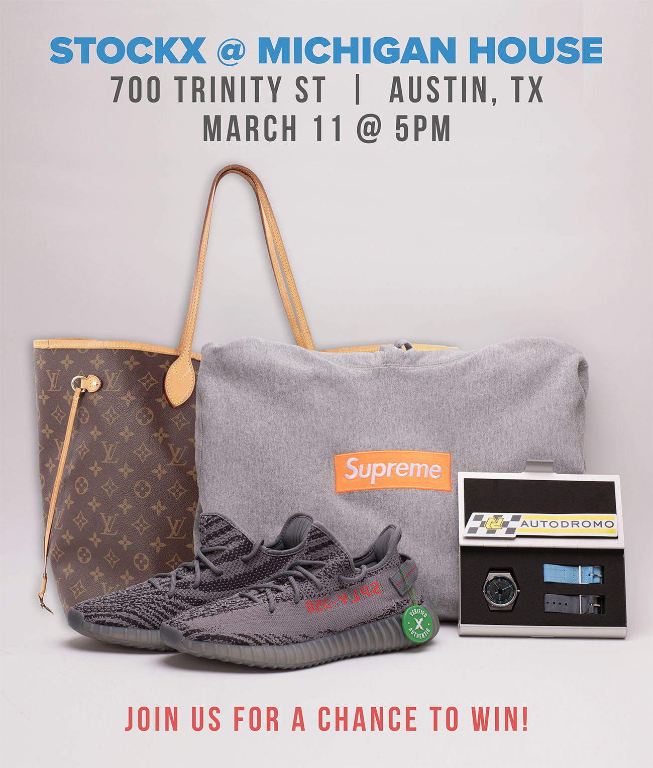 cd844ca930 StockX at SXSW: Free prizes, a karaoke RV, and more.