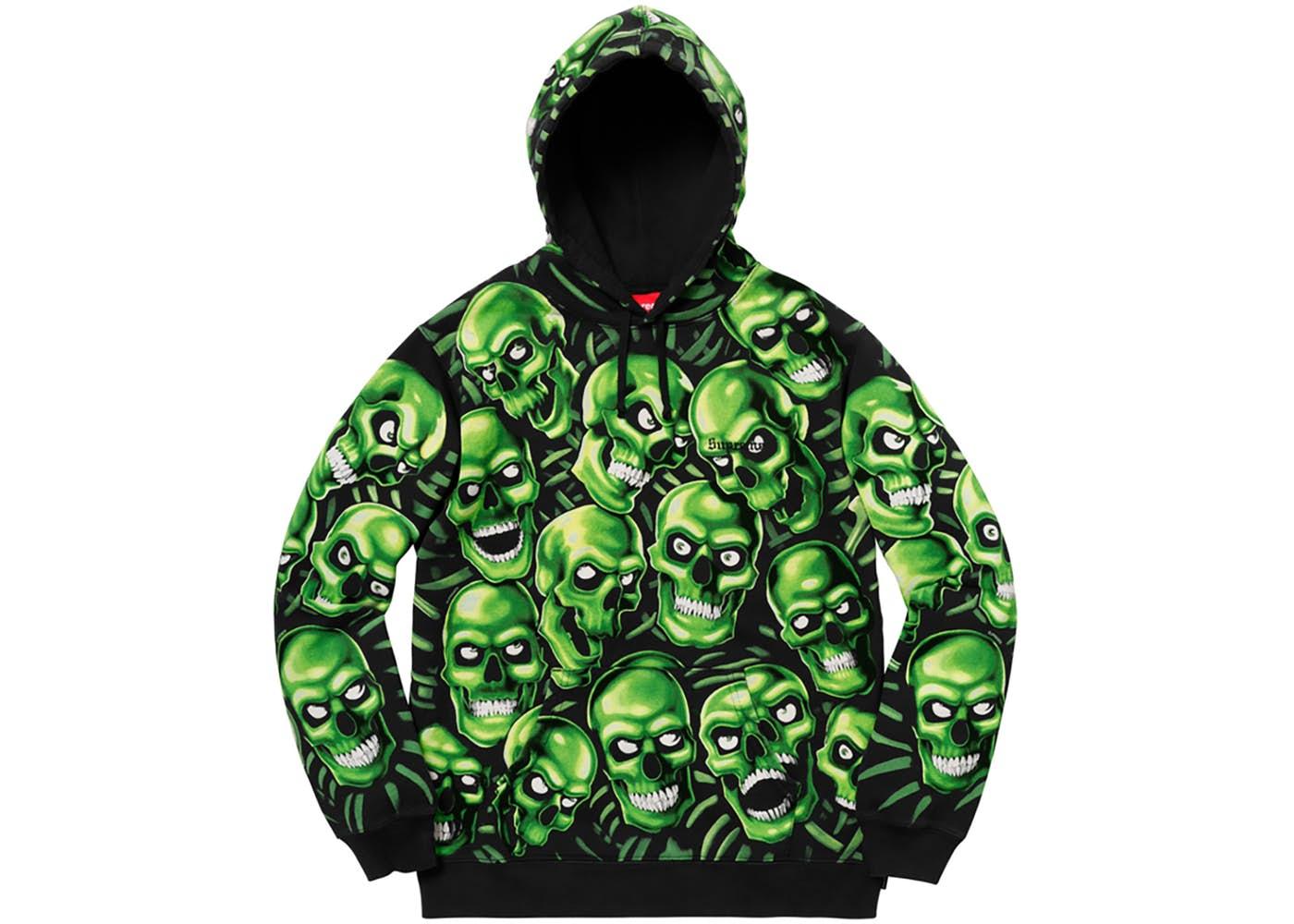 Supreme Skull Pile Hooded Sweatshirt - StockX News e931ac713