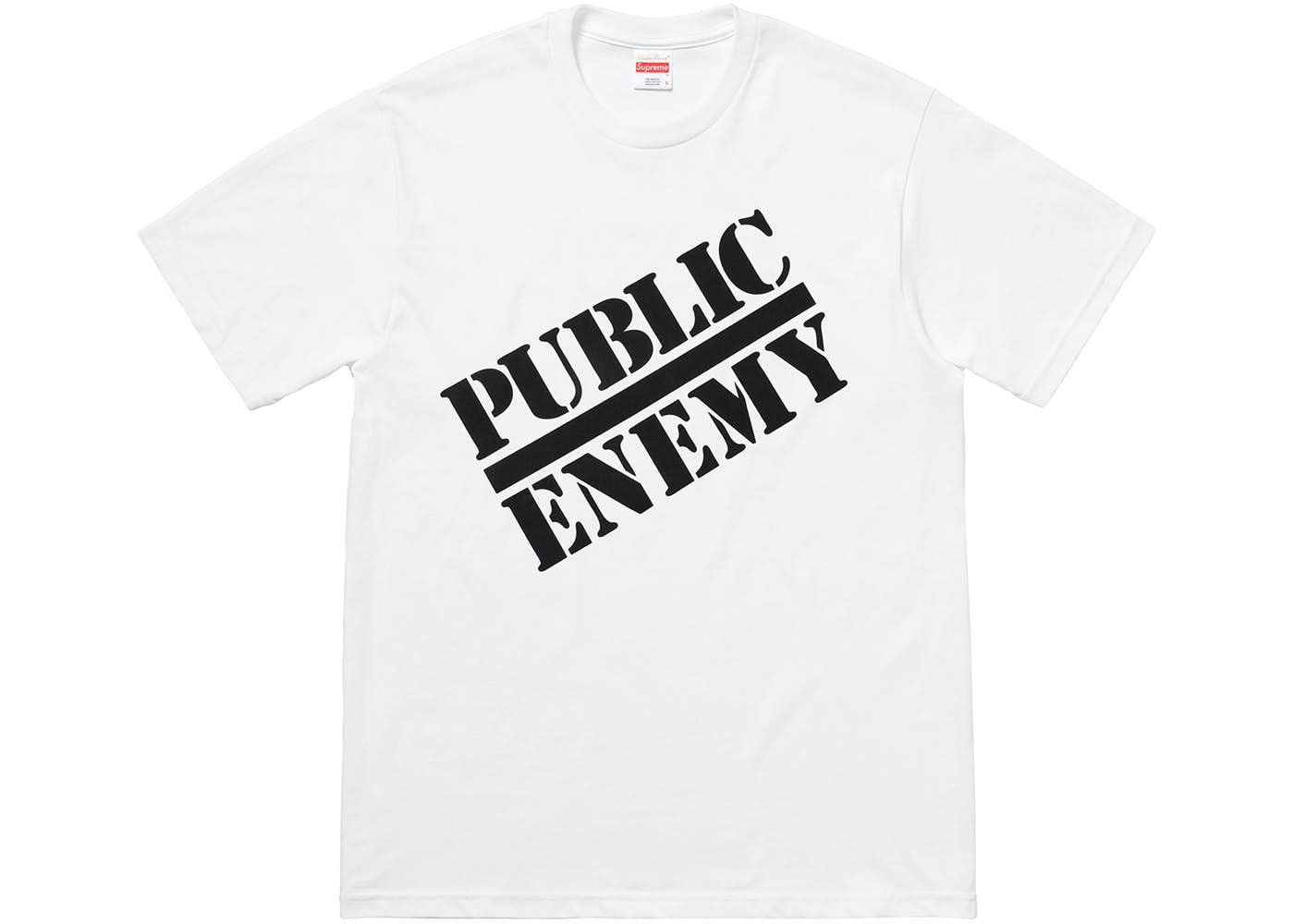 1db4030a ... Stockx Logo: Supreme UNDERCOVER/Public Enemy Tee White Spring/Summer  2018
