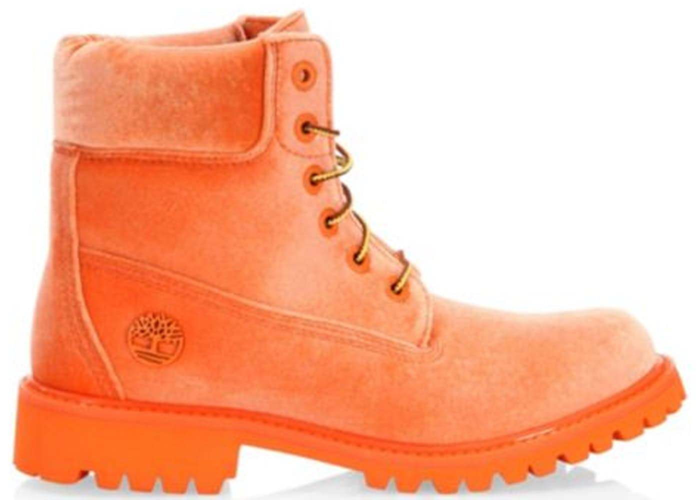 velvet Timberland boots - Yellow & Orange Off-white 3oc7Um