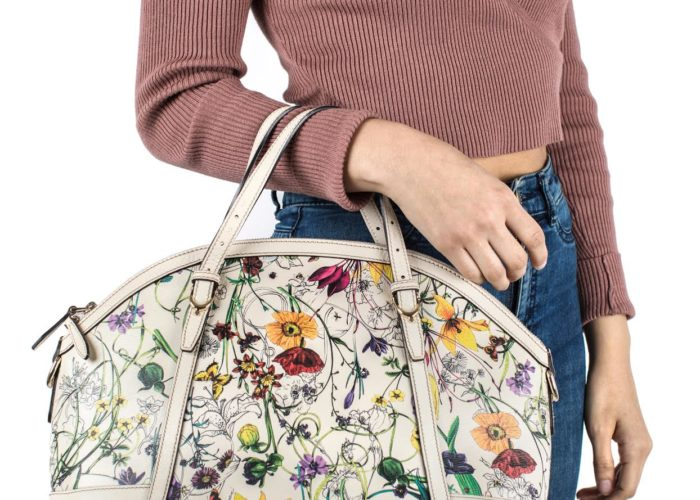 The History of Gucci's Iconic Flora Print