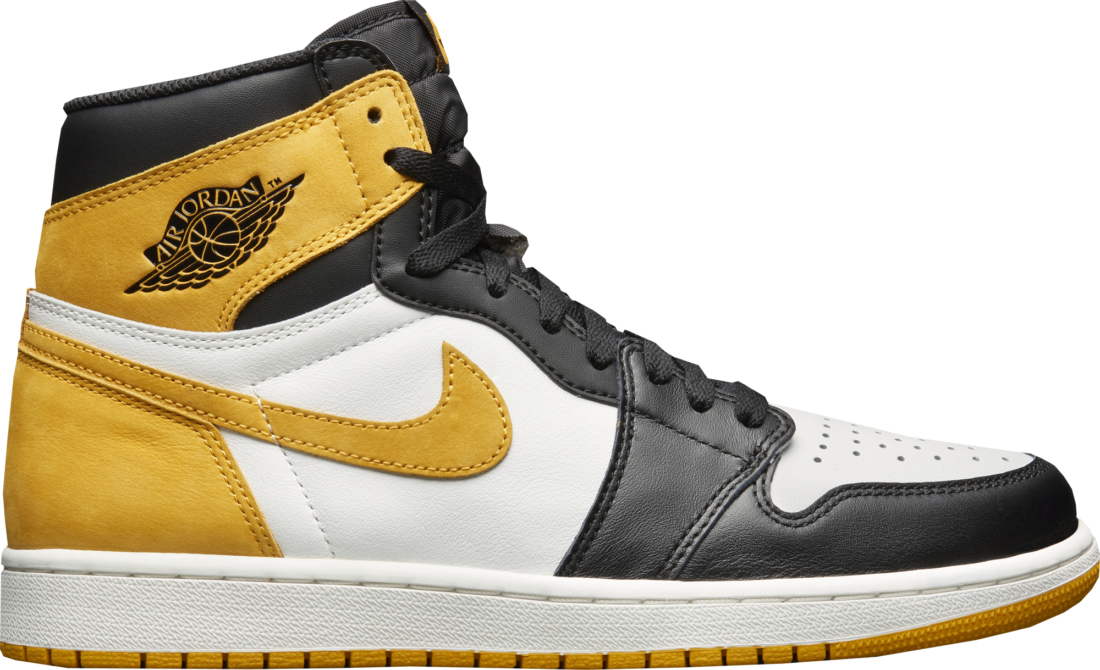 Air Jordan 1 Yellow Ochre 5048e2304