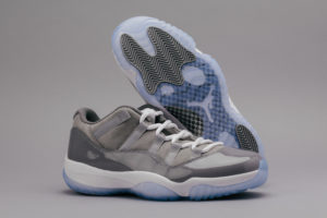 Air Jordan 11 low Cool Grey 2018 release
