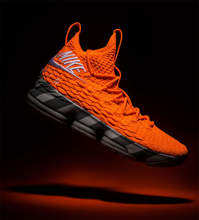 LeBron 15 Orange Box