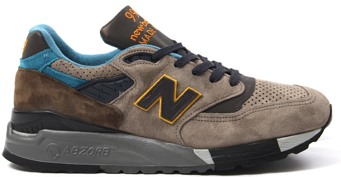 new style 03b0c 96ae9 Concepts New Balance 998 Golden Eye