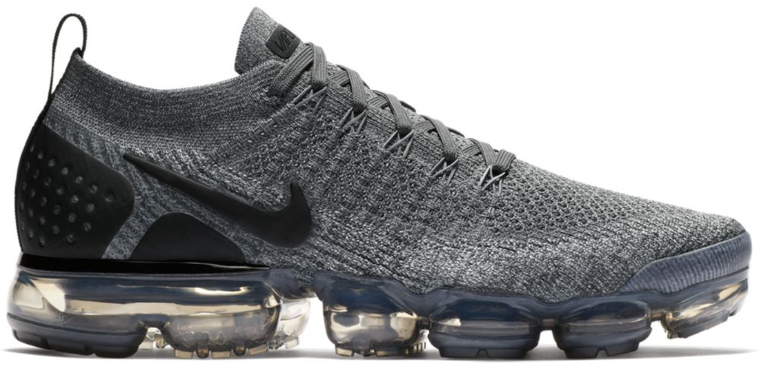 c13f16439 Nike Air VaporMax 2 Dark Grey