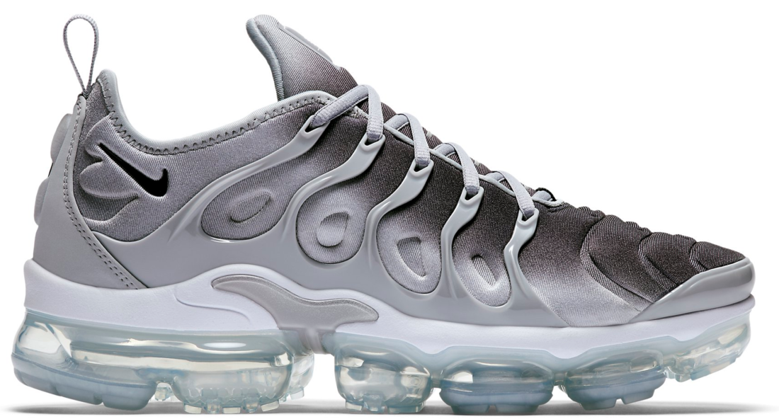 low priced 17ae4 d3dcf Nike Air VaporMax Plus Wolf Grey Black