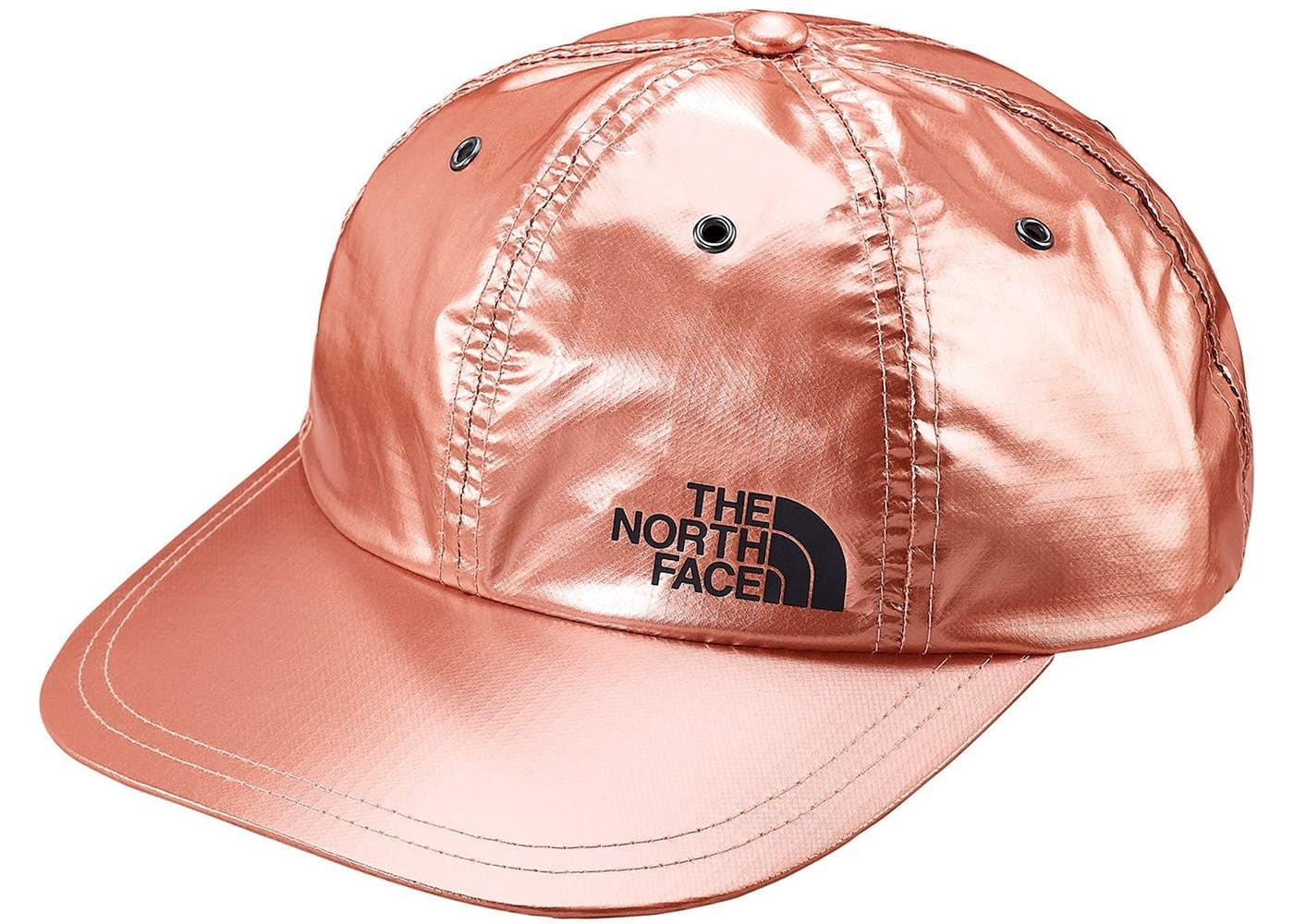 788b9796e Supreme The North Face Metallic 6-Panel Rose Gold